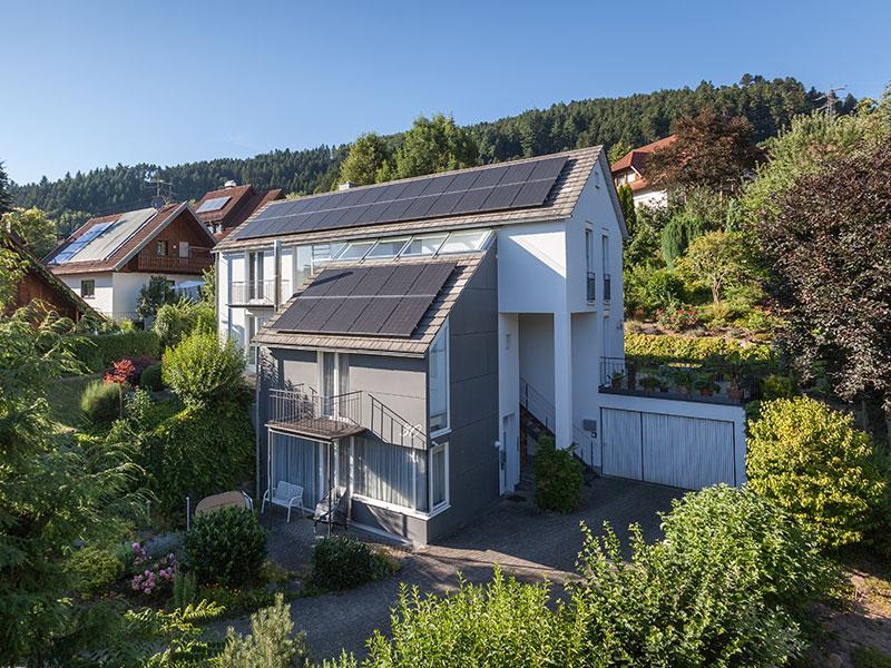 Photovoltaik für Privathaushalte